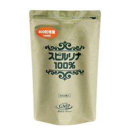 SPIRULINA 100% 2000 + 400 tablets 螺旋藻 蓝藻