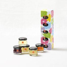 Sugi Bee Garden SUGI HONEY Selection (30g × 5bottles) Fruit Juice Honey 杉養蜂園