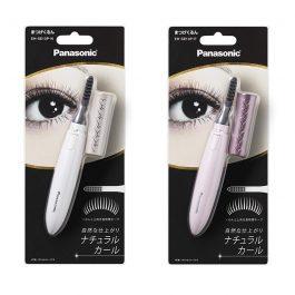 Panasonic Electornic Heated Eyelash Curler Double heater EH-SE10P Pink / Gold