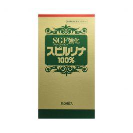 SPIRULINA 100% SGF Enriched 1500 tablets 螺旋藻 蓝藻